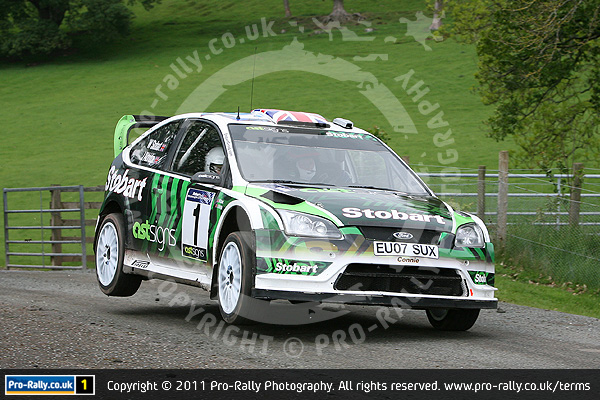 2011 Pendragon Stages