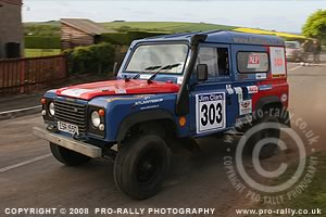 2008Jim Clark Land Rover Rally