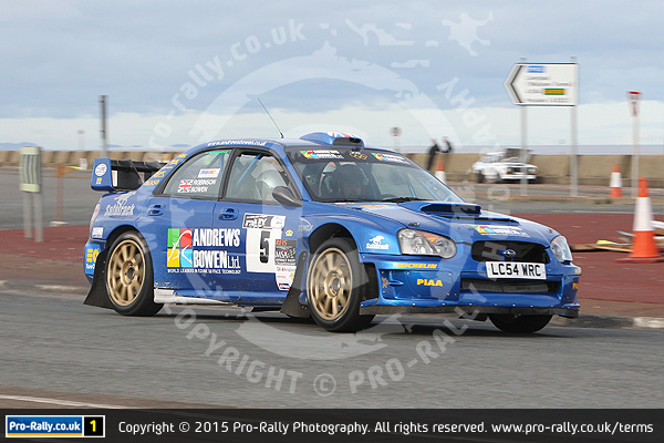2015 Promenade Stages Rally