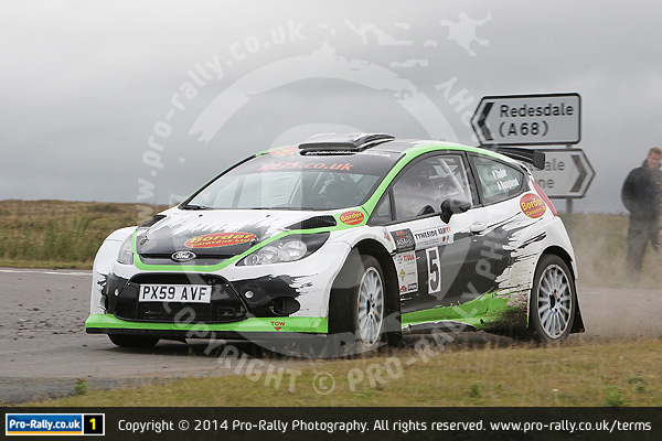 2014 Tyneside Stages Rally
