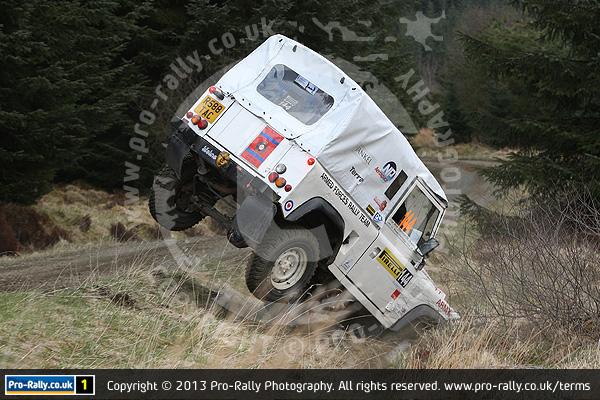 2013 Pirelli Land Rover Rally Rally