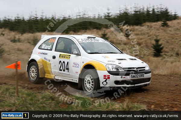 2009 Pirelli Challenge Rally