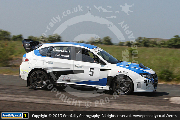 2013 Keith Frecker Memorial Weeton Stages