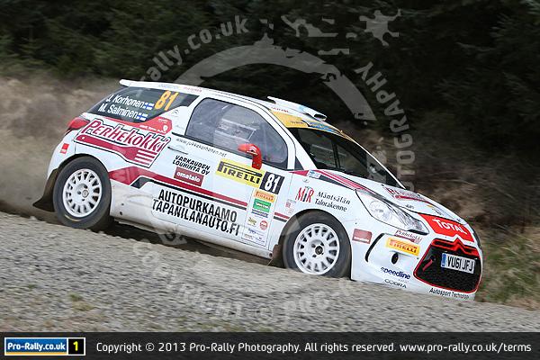 2013 Pirelli MSA BRC Rally