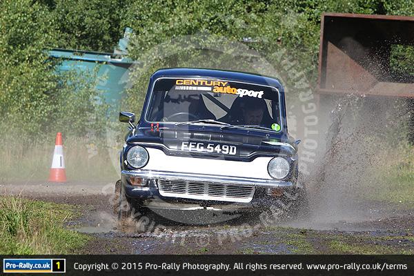 2015 Blue Streak Targa Rally