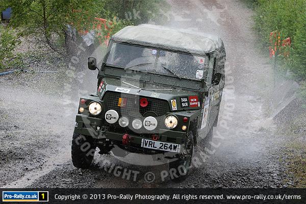 2013 RSAC Scottish Land Rover Rally