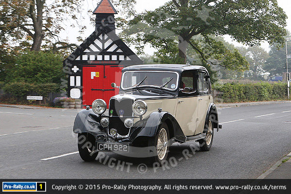 2015 Preston & District Vintage Car Club Autumn Leaves Rally
