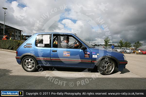 2011 Accrington MSC August AutoSolo