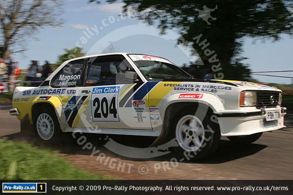 2009 Jim Clark Historic Rally