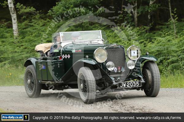 2019 Vintage Sports Car Club Scottish Tour