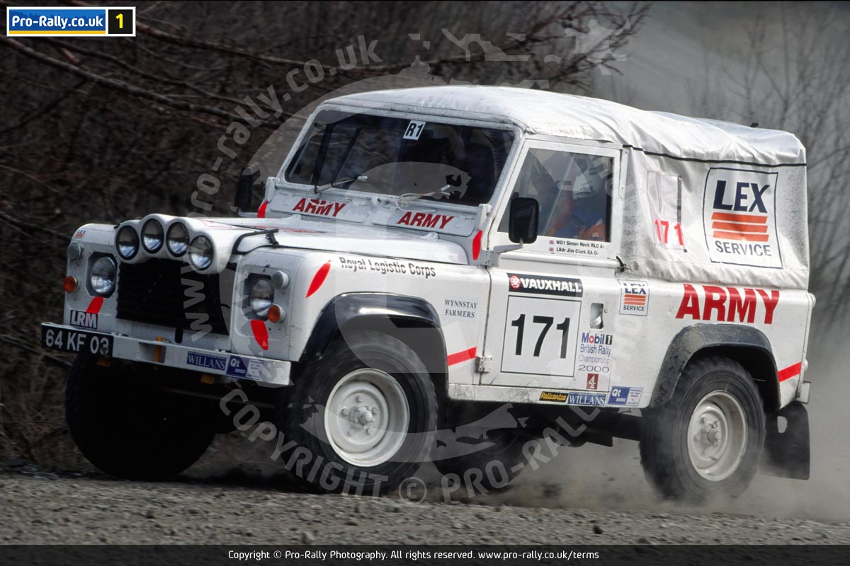 2000 Vauxhall Rally of Wales Land Rover Challenge Photos