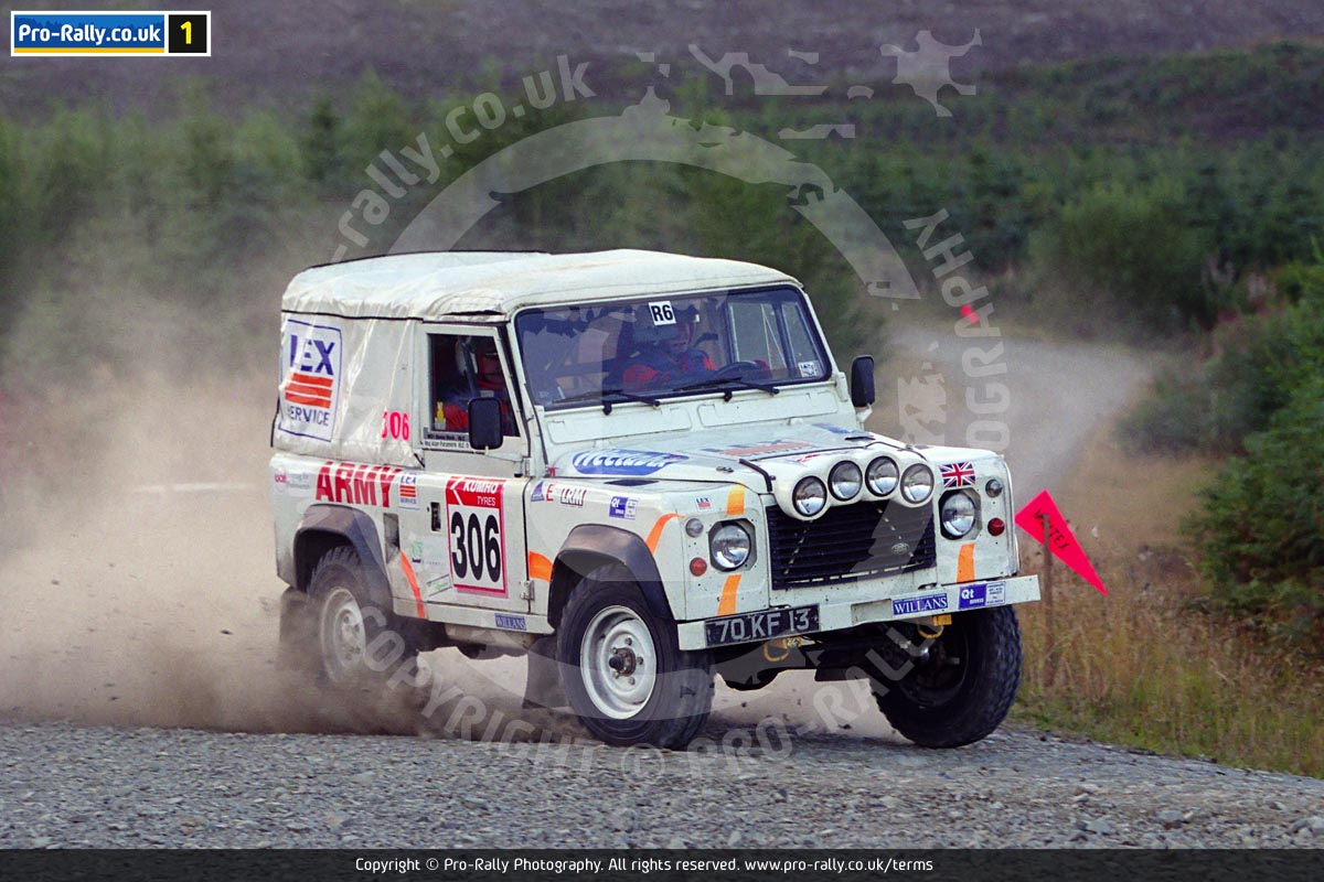 2001 Scottish Land Rover Rally Photos