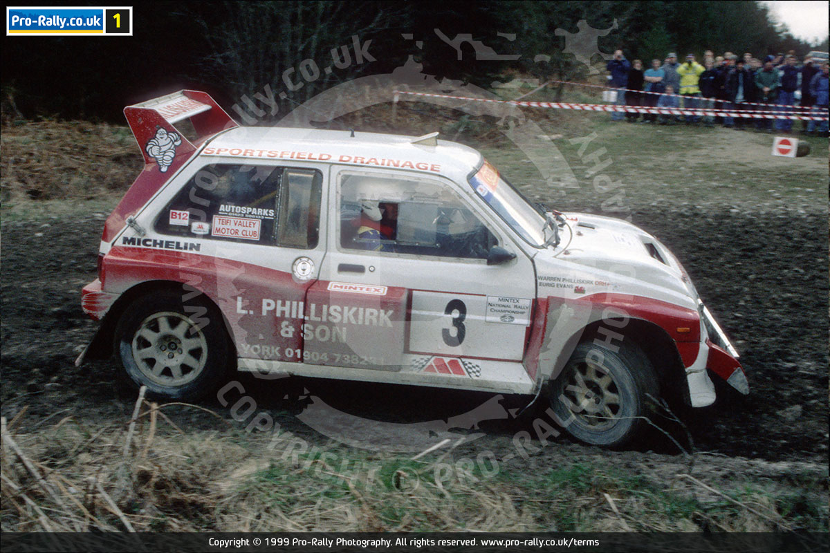 1999 North Humberside Rally