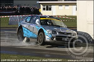 2007 Legend Fires North West Stages