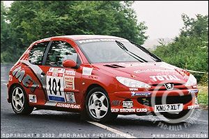 2003 Jim Clark Junior Rally