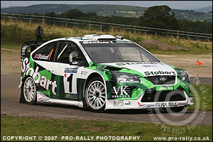 2007 Pendragon Stages Rally