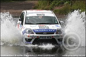 2006 Jim Clark Ford Fiesta Sporting Trophy Rally