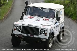 2007 Jim Clark Land Rover Rally