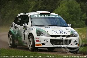 2005 Pendragon Stages Rally