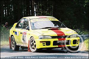 2003 Trackrod Clubman Rally