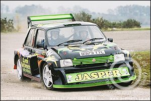 2003 Pendragon Stages Rally