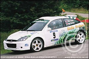 2004 Pendragon Stages Rally