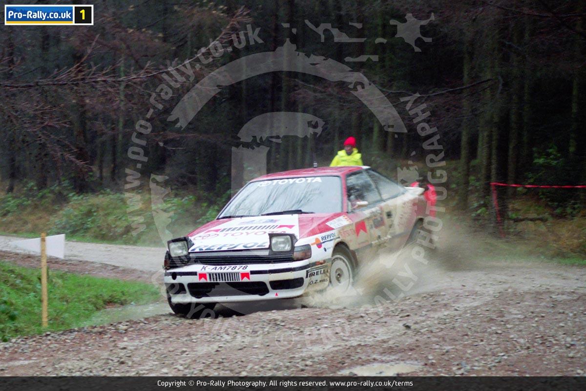 1990 Lombard RAC Rally Photos