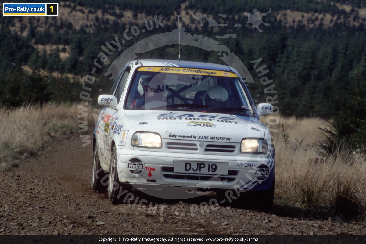 1995 Pirelli Cumbria Rally Photos