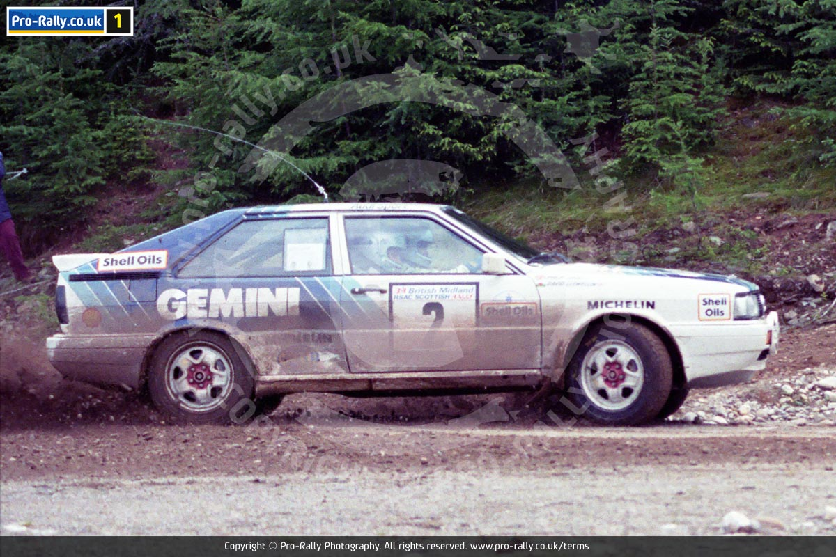 1987 RSAC Scottish Rally Photos