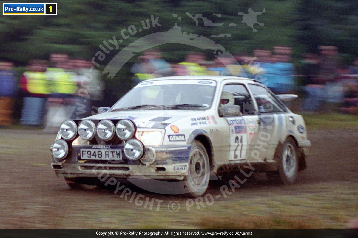 1989 Lombard RAC Rally Photos