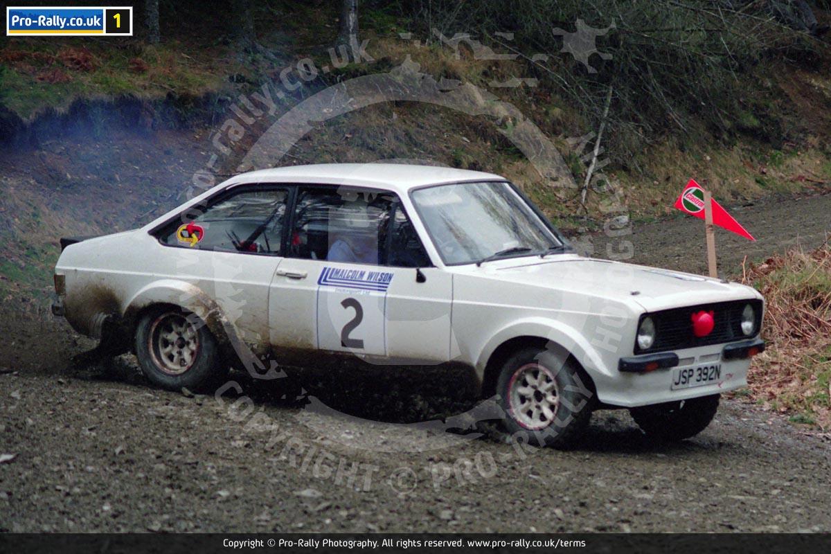1991 Malcolm Wilson Rally Photos