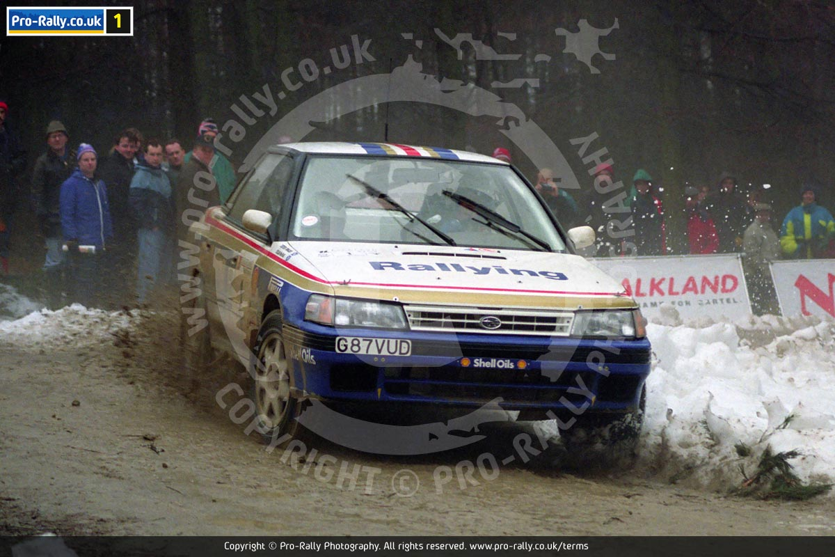 1991 Talkland International Rally Photos